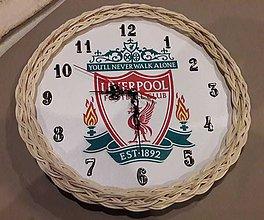 Hodiny - Pletená hodinka Liverpool - 10235027_
