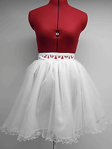 Sukne - 026 Dámska tylová sukňa 42 - 10235302_