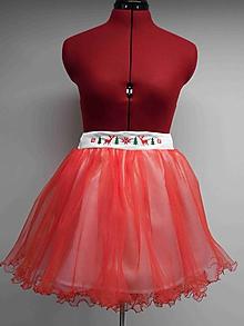 Sukne - 027 - Dievčenská tylová sukňa 140 - 10235311_