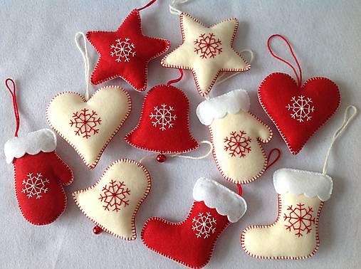 6d598e52e Sada vianočných ozdob z filcu / MyHappyHandmade - SAShE.sk ...