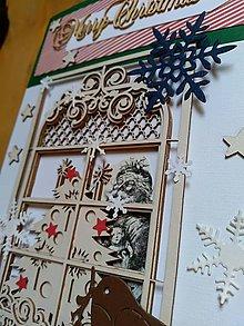 Papiernictvo - Santa za oknom - 10236050_
