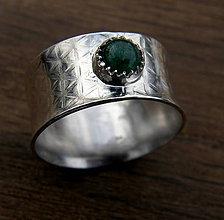 Prstene - Smaragdový - 10237831_