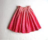 Detské oblečenie - sedemdesiat sukien mala... (hot pink) - 10235520_