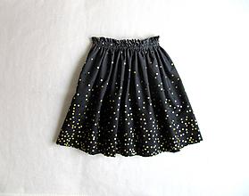 Detské oblečenie - sedemdesiat sukien mala... (onyx LEN JEDEN KUS !!!) - 10235556_