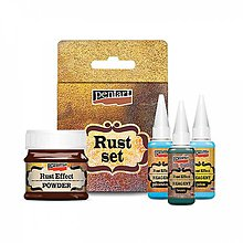 Farby-laky - Rust effect set, hrdza - 10237180_