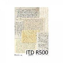 Papier - Ryžový papier R500 - A4, ihneď - 10237515_