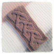 Ozdoby do vlasov - Čelenka Pink Wood II - 10240345_