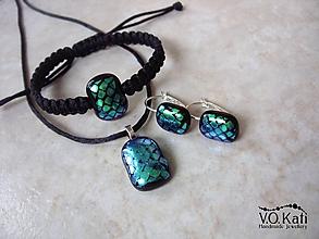 Sady šperkov - -15% Sada šperkov s dichroickým sklom V. - 10241420_
