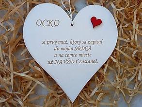 Tabuľky - Tabuľka Ocko - 10238978_