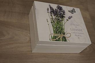 Krabičky - HM - Krabička na čaj - 4 priehradková - 10239341_