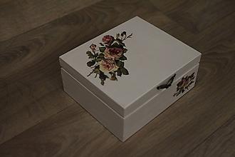 Krabičky - HM - Krabička na čaj - 4 priehradková - 10239353_