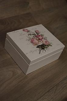 Krabičky - HM - Krabička na čaj - 4 priehradková - 10239385_