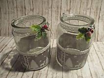 Svietidlá a sviečky - Vianočný svietnik - 10241299_