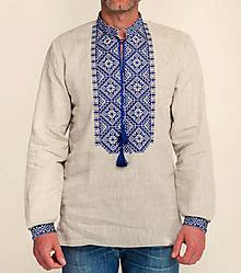 Oblečenie - ľanová košeľa Oliver - 10240765_