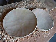 Nádoby - Čerešňový tanier masív, dlabaný - 10238783_