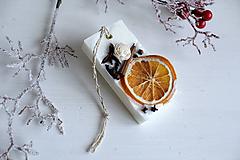 Dekorácie - Vianočný vonný plát - pomaranč I. - 10238754_
