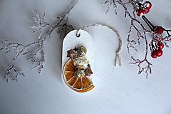 - Vianočný vonný plát - pomaranč II. - 10238772_