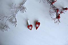 Dekorácie - Darčekové štipce - 6 kusov - 10240443_