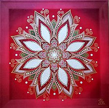 Obrazy - Mandala...Bohatstvo lásky - 10241875_
