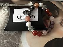 Náramky - Náramok priateľstva a šťastia/ Friendship and hapiness bracelet - 10239477_