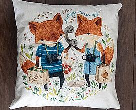 Úžitkový textil - Dekoračná obliečka na vankúš - 10239576_