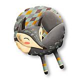 Úžitkový textil - Sleeping Grey Foxy - Large - 10239813_