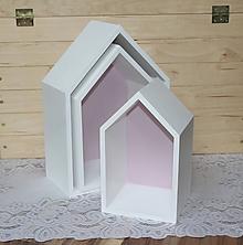 Nábytok - krásne domčekopoličky do detskej izby :) - 10239899_