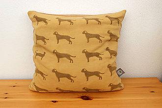 Úžitkový textil - obliečka na vankúš pes a mačka, 40 x 40 - 10239190_