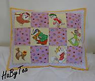 Textil - Detský vankúšik zvieratká - 10240213_