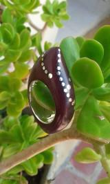 Prstene - Granadillo elegante - 10241066_