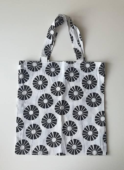 9f773c5ac Plátená taška-bieločierna / BambinoHandmade - SAShE.sk - Handmade ...