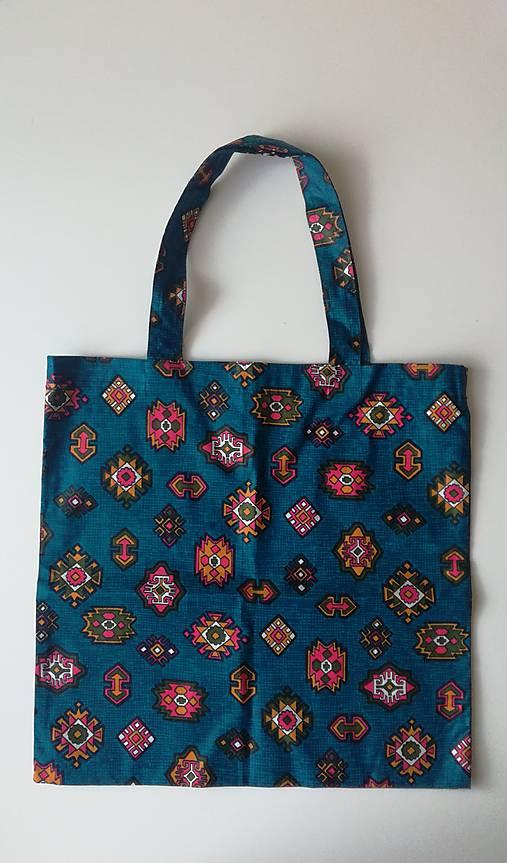 f122a6164 Plátená taška-modráčik / BambinoHandmade - SAShE.sk - Handmade ...