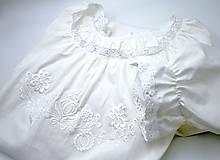 Pyžamy a župany - biela Búvajka s dlhým rukávom - 10239703_