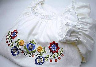Pyžamy a župany - farebná Búvajka s krátkym rukávom - 10241210_