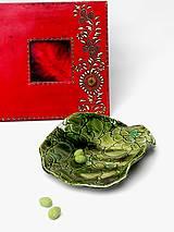 Nádoby - miska zelená - 10239519_