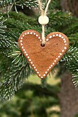 Dekorácie - Vianočné medovníky na stromček - 10242995_