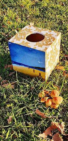 Krabičky - Box na vreckovky