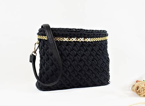 Recy kabelka (nielen) crossbody čierna elegant   ByBea - SAShE.sk ... 2fcadbae529