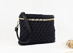 Kabelky - Recy kabelka (nielen) crossbody čierna elegant - 10242223_
