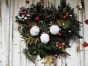 Dekorácie - Vianočné ozdoby oriešky - 10242767_