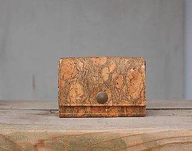 Peňaženky - Korková peňaženka - 10242623_