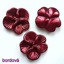 Korálky - Kvet plast 26mm-1ks - 10244407_