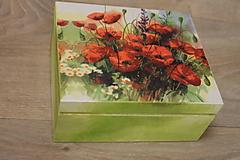 Krabičky - HM - Krabička na čaj - 4 priehradková - 10242940_