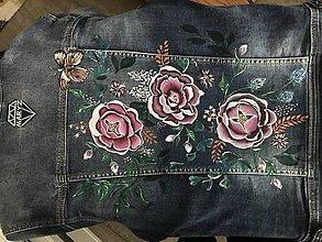 Košele - Maľba na rifľovú bundu - 10242012_