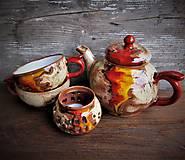 Nádoby - čajová súprava pre dvoch - 10243486_