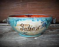 Nádoby - miska na polievku, guláš, kapustu... (Tatino a mamina-misky spolu) - 10243593_