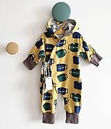 Detské oblečenie - Overal Kakao - 10244392_