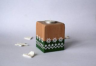 Svietidlá a sviečky - Svietnik ORNAMENT - 10244126_