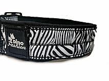 Pre zvieratá - Obojok Dinofashion Zebra - 10243401_