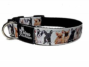 Pre zvieratká - Obojok French Bulldog - 10242195_